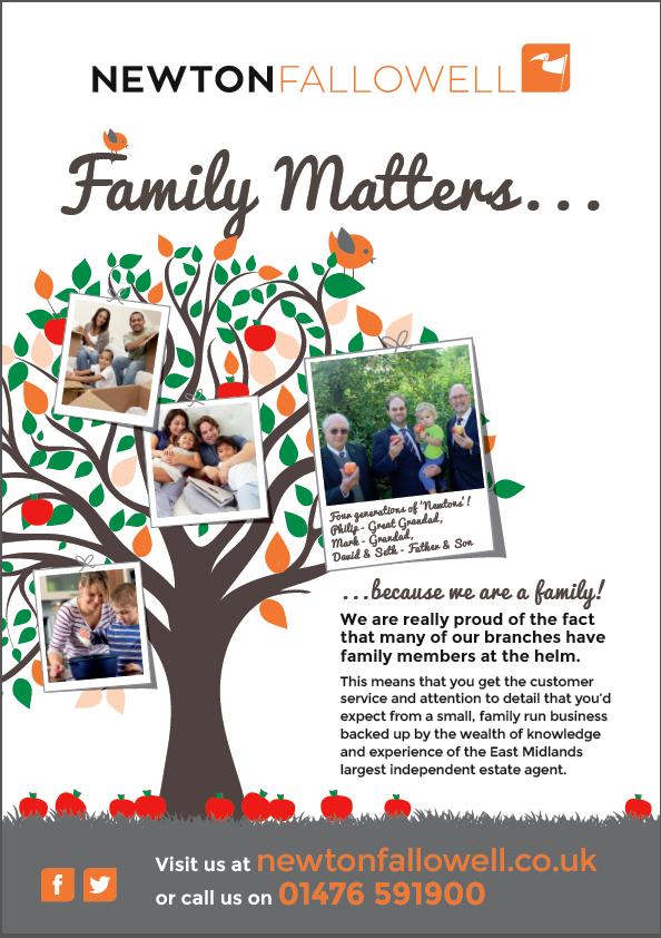 Grantham family tree advertisement